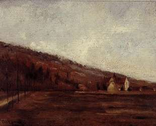 Study for The Banks of Marne in Winter — Камиль Писсарро
