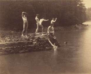 Study for The bathhole — Томас Икинс