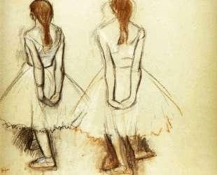Этюд для Маленькой танцовщицы четырнадцати лет — Эдгар Дега