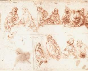 Study for the Last Supper — Леонардо да Винчи