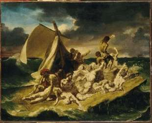 Study for The Raft of the Medusa — Теодор Жерико