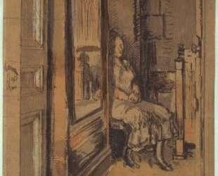 Study for `The wardrobe' — Уолтер Сикерт