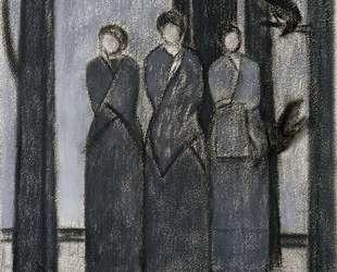 Study for Three Muses — Уилл Барнет