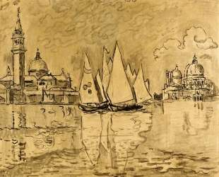 Study for Venice, Morning — Поль Синьяк