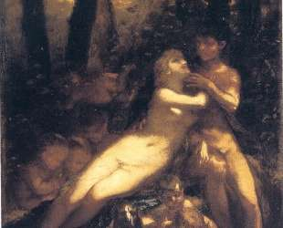 Study for ' Venus And Adonis' — Пьер Поль Прюдон