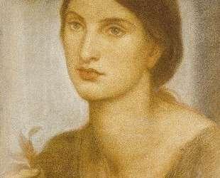 Study of a Girl — Данте Габриэль Россетти