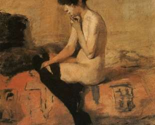 Study of a Nude — Анри де Тулуз-Лотрек