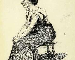 Study of a Seated Woman — Эдвард Хоппер