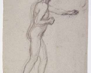 Study of a Standing Male Nude — Пьер Пюви де Шаванн