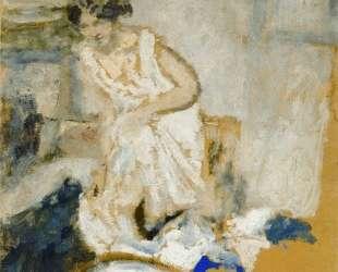 Study of a Woman in a Petticoat — Эдуар Вюйар