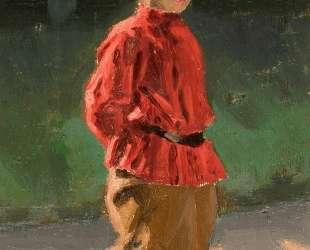 Study of boy — Николай Рерих