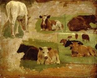 Study of Cows — Эжен Буден