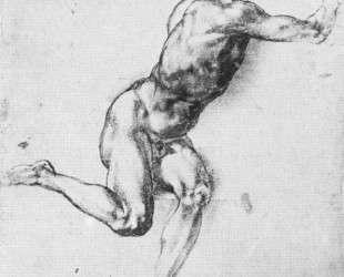 Study of figure to 'Battle of Cascina' — Микеланджело