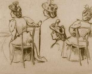 Study of figures — Федерико Дзандоменеги