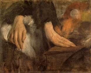 Study of hands — Леонардо да Винчи