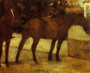Study of horses — Леонардо да Винчи