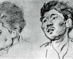 Study of khakasy — Василий Суриков