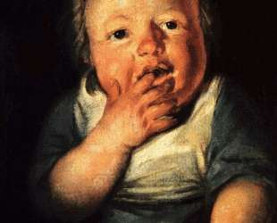 Study of little child — Якоб Йорданс