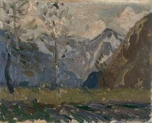 Study of mountains — Максим Мофра