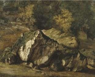 Study of rocks — Теодор Руссо