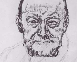Study of self-portrait — Фердинанд Ходлер