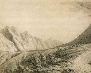 Study of the Terrain near Vesuvius — Джозеф Райт