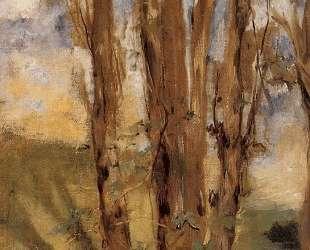 Study of trees — Эдуард Мане