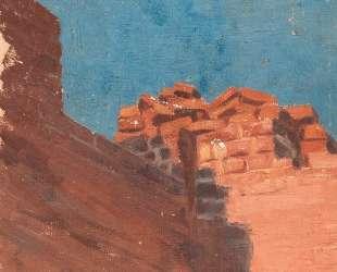 Study of walls — Николай Рерих