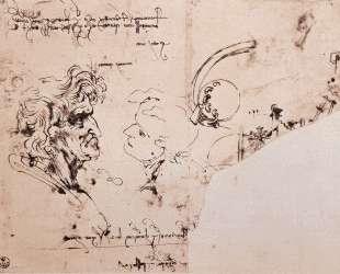 Study sheet — Леонардо да Винчи