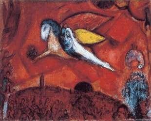 Этюд для 'Песни песней IV' — Марк Шагал