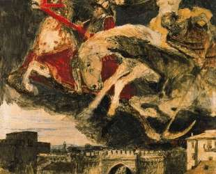 Study to 'War' — Арнольд Бёклин