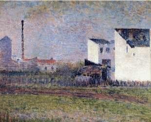 Пригород — Жорж Сёра