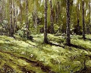 Летний лес — Давид Бурлюк
