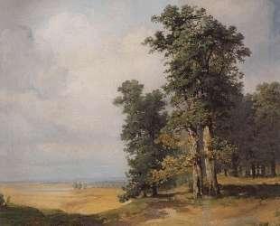 Летний пейзаж с дубами — Алексей Саврасов