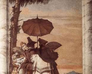 Summer Stroll — Джованни Доменико Тьеполо