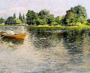 Summertime (Pulling for Shore) — Уильям Меррит Чейз