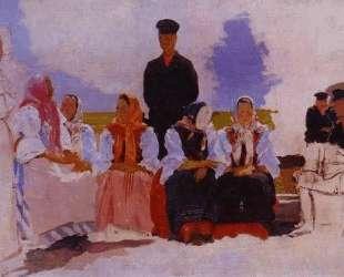 Sunday in the Village, Study — Андрей Рябушкин