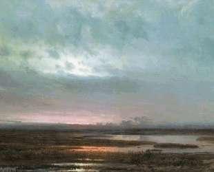 Закат над болотом — Алексей Саврасов