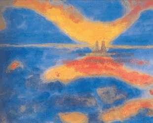 Sunrise at the sea — Эмиль Нольде