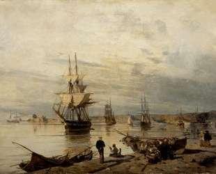 Sunset at the seashore — Константинос Воланакис