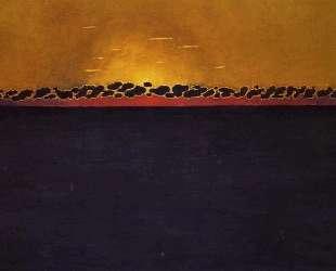 Sunset, Gray Blue High Tide — Феликс Валлотон