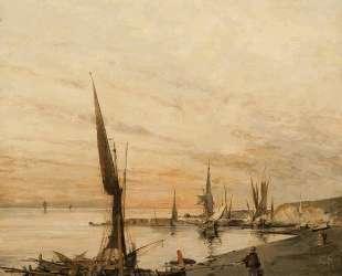 Sunset over the bay — Константинос Воланакис