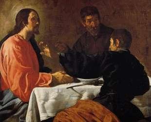 Supper at Emmaus — Диего Веласкес
