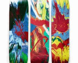 Supreme Skate Decks — Дэмьен Хёрст
