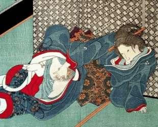 Surimono — Утагава Кунисада