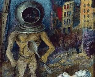 Сюрреалистическая композиция — Давид Бурлюк
