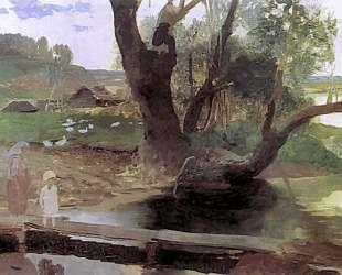 Svislach Landscape — Генрих Семирадский