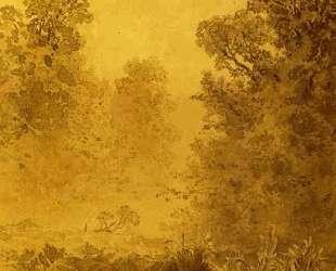 Swamp in a Forest. Mist — Фёдор Васильев