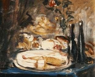 Table with cake — Николаос Гизис