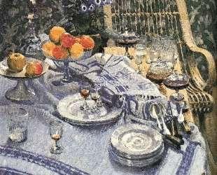 Table with Leftovers — Игорь Грабарь